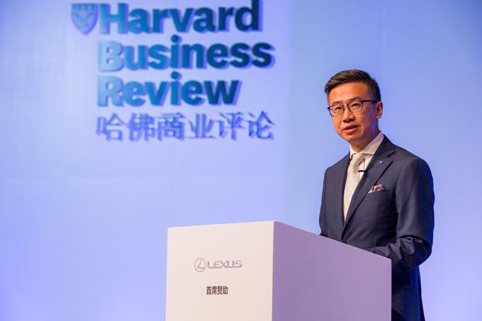 LEXUS雷克萨斯中国副总经理 朱江先生在2016《哈佛商业评论》中国年会上发表演讲