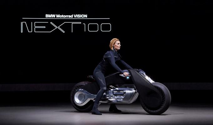 BMW Motorrad VISION NEXT 100概念车