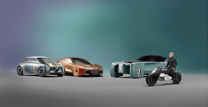 宝马集团以四款未来百年概念车展示对未来出行的美好愿景和创新实力