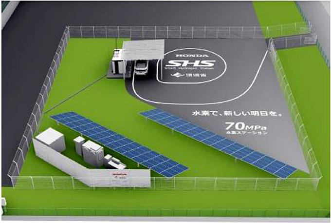 70MPa智能氢站验证实验设施概念图