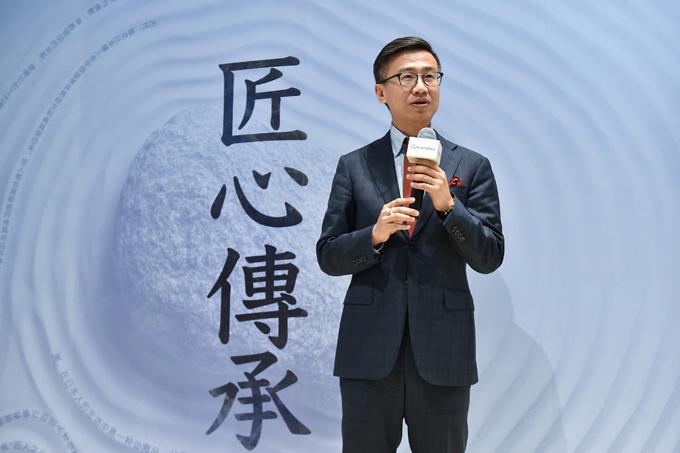 雷克萨斯中国副总经理朱江致辞