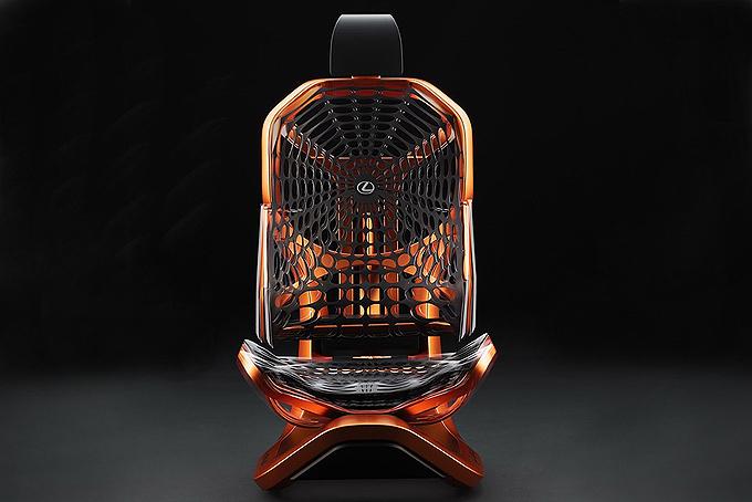 雷克萨斯概念座椅