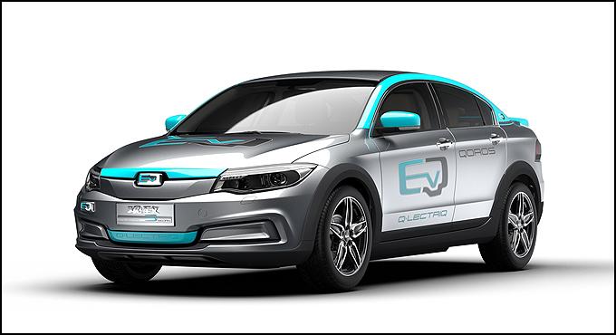观致3 Q•LECTRIQ 纯电动概念车