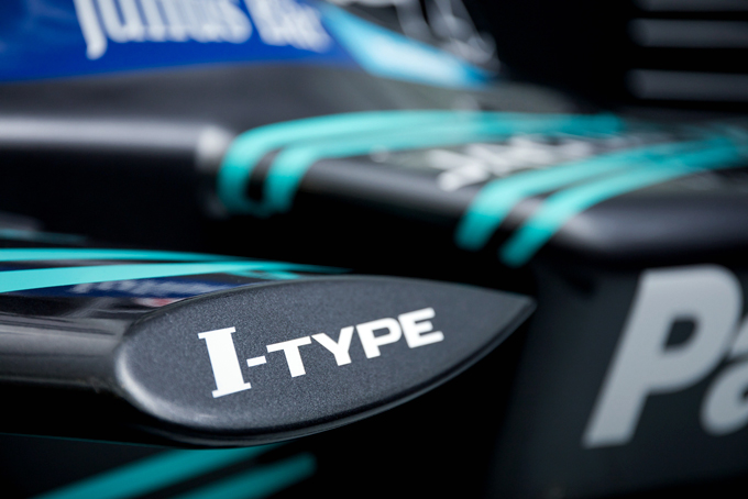 捷豹车队I-TYPE车身Logo