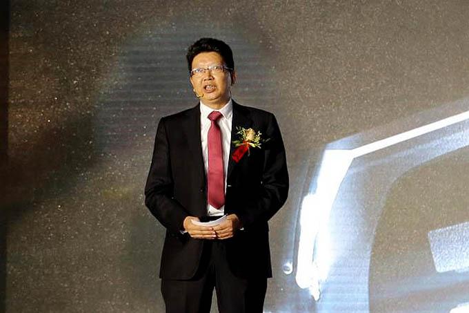 重庆比速汽车有限公司总经理 白天明
