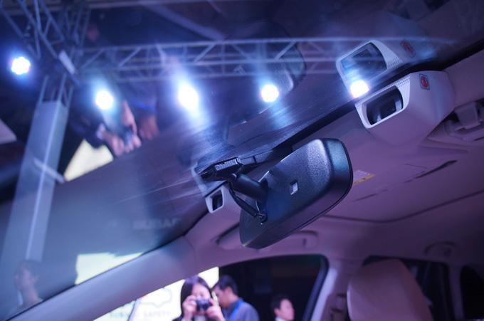 SUBARU EyeSight驾驶辅助系统