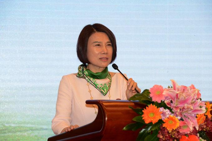 联合国城市可持续发展宣传大使,格力电器董事长、总裁董明珠