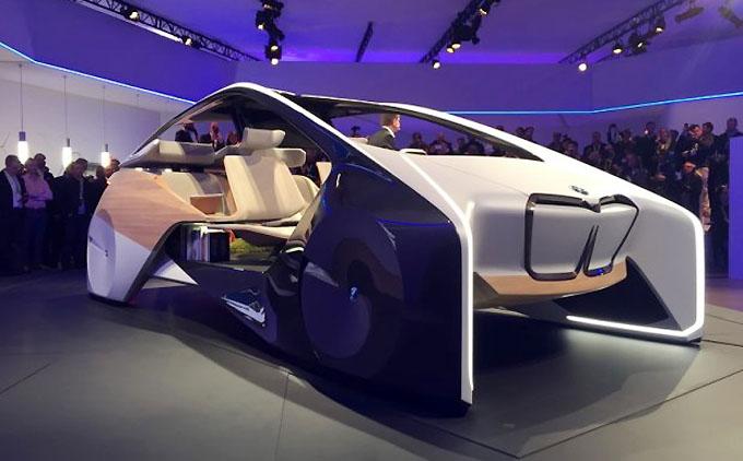 宝马i Inside Future(未来内室研究项目)的最新成果