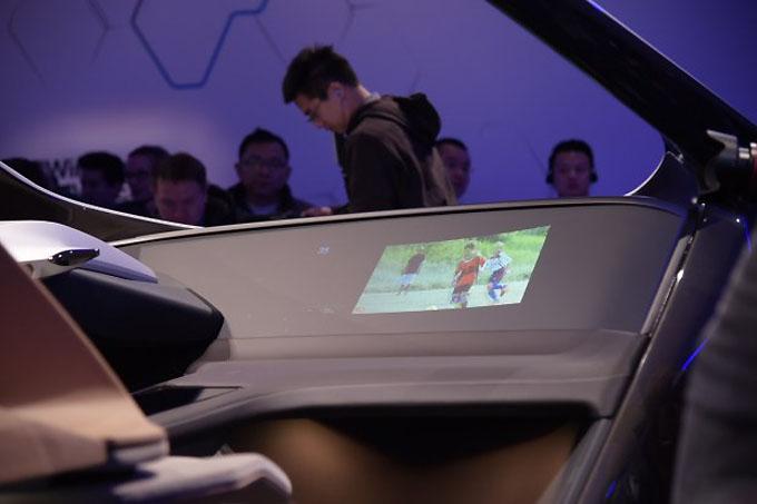HoloActive触控技术实现悬浮式虚拟中控屏